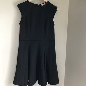 Ted Baker Black Sleeveless Skater Dress 4